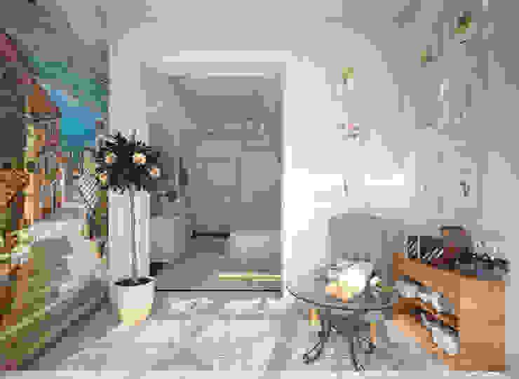 Французский дворик на балконе Терраса в средиземноморском стиле от Гурьянова Наталья Средиземноморский