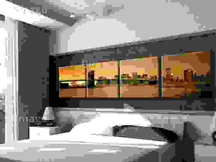 Puente de Manhattan de BIMAGO Moderno