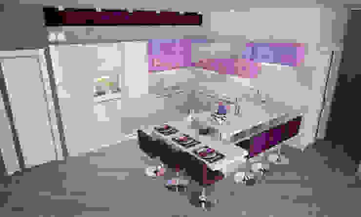 Кухня в современном стиле Кухня в стиле модерн от Гурьянова Наталья Модерн