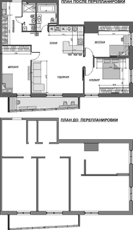 Кухня в современном стиле:  в современный. Автор – Гурьянова Наталья, Модерн