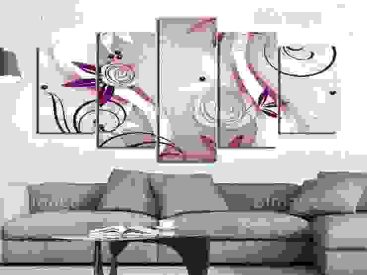 Rosas violetas de BIMAGO Moderno