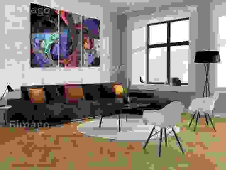 Abstracción de colores misteriosos de BIMAGO Moderno