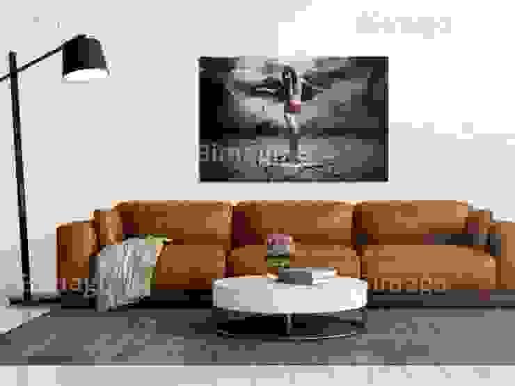 Ángel negro de BIMAGO Moderno