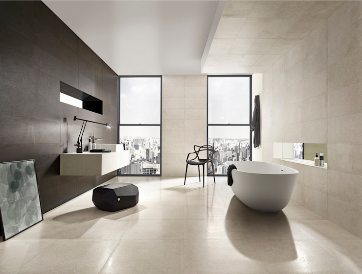 Paredes y pisos de estilo  por The London Tile Co.,