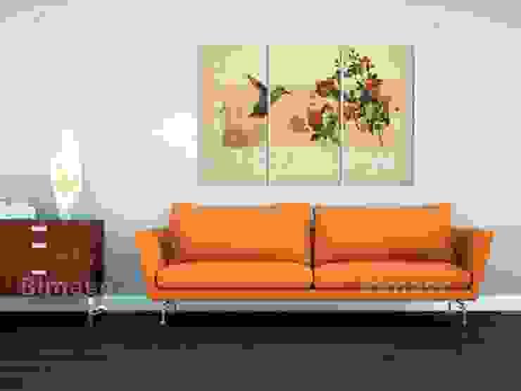Colibrí y rosas de BIMAGO Moderno