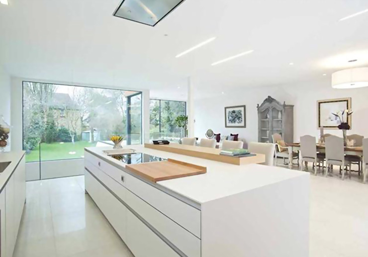 Richmond, London Modern windows & doors by Maxlight Modern