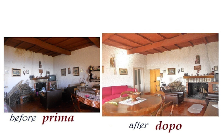 por Sublacense Home Staging Rústico