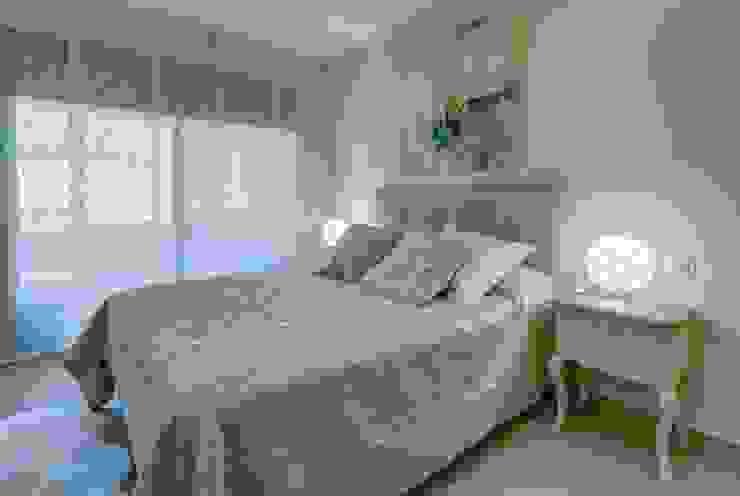 Perspectiva de Dormitorio CARMAN INTERIORISMO Dormitorios de estilo mediterráneo