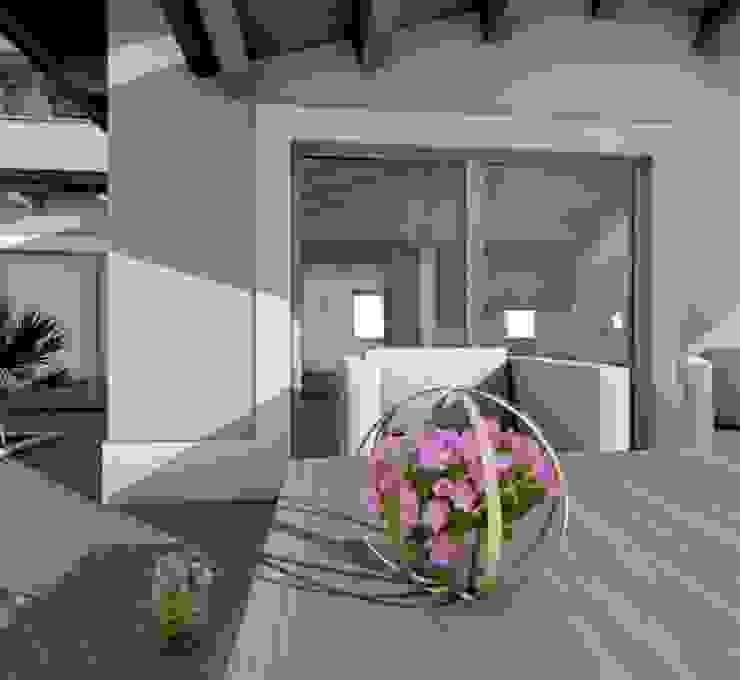 Rendering di Stefania Lorenzini garden designer Moderno