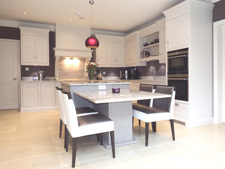 Kitchens made in Harrogate by Inglish Design par INGLISH DESIGN Classique