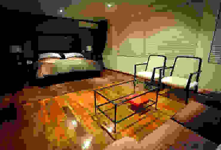 Casa Tecamachalco Dormitorios modernos de Concepto Taller de Arquitectura Moderno