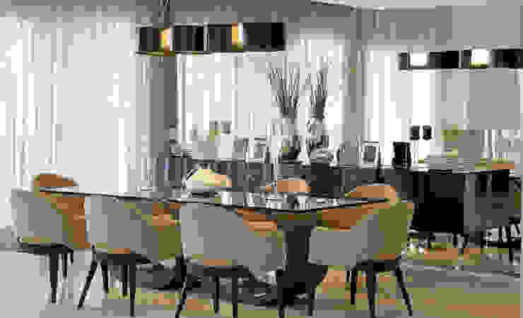 JANTAR Salas de jantar clássicas por ALME ARQUITETURA Clássico