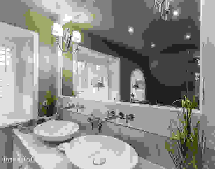 Reetdachhaus in List auf Sylt Immofoto-Sylt Badezimmer im Landhausstil