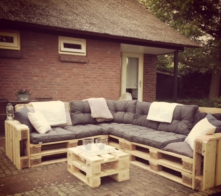 hiện đại  theo Meubelen van pallets, Hiện đại