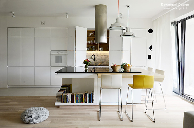 Devangari Design Scandinavian style kitchen