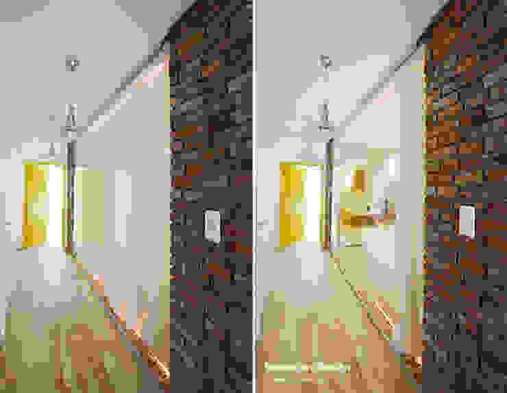 Scandinavian style corridor, hallway& stairs by Devangari Design Scandinavian