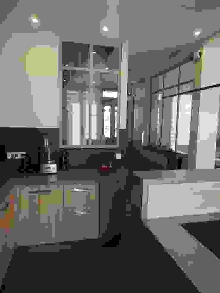 Maison de Famille rénovée agence MGA architecte DPLG Cuisine moderne