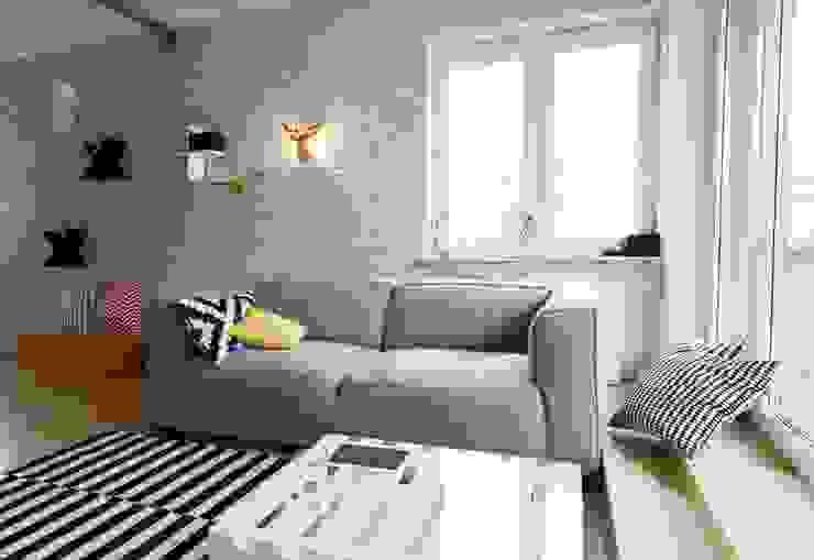Scandinavian style living room by Devangari Design Scandinavian