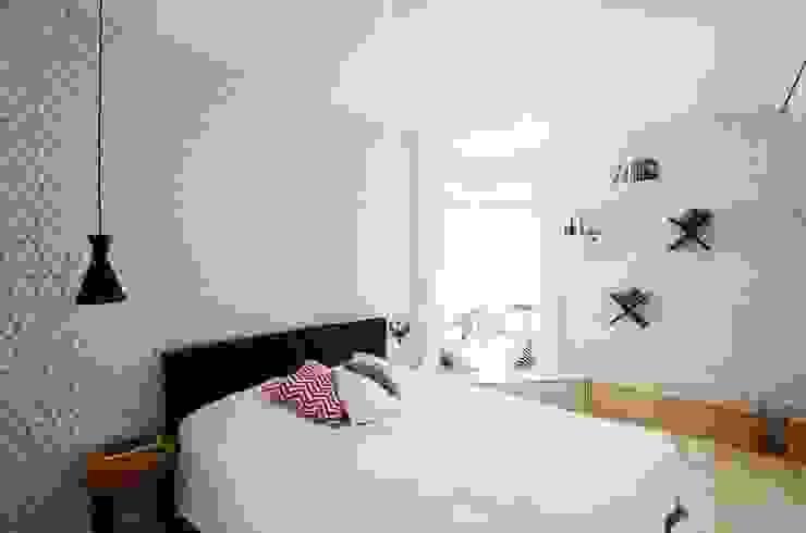 Chambre scandinave par Devangari Design Scandinave