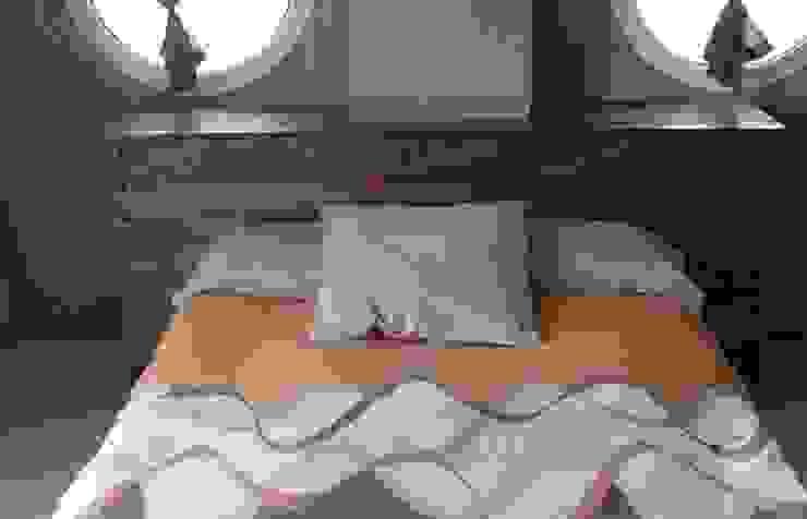 cabezal cama con palets de RECICLA'RT Rústico