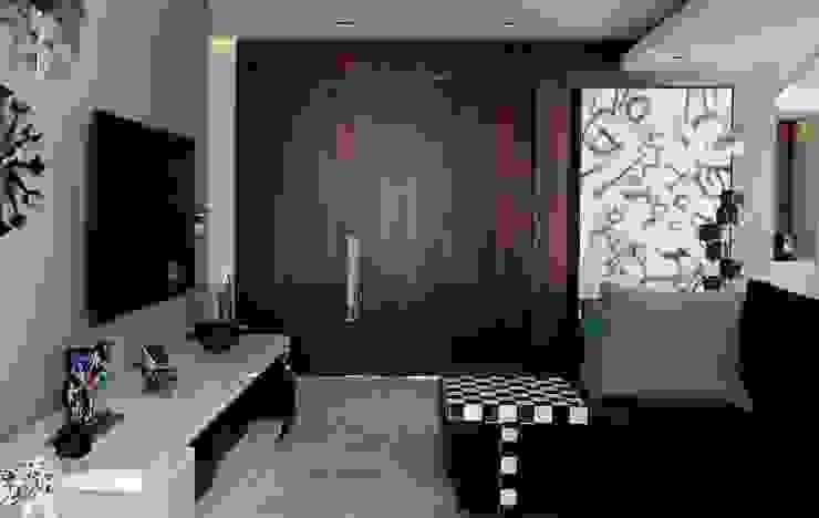 Paredes e pisos modernos por homify Moderno