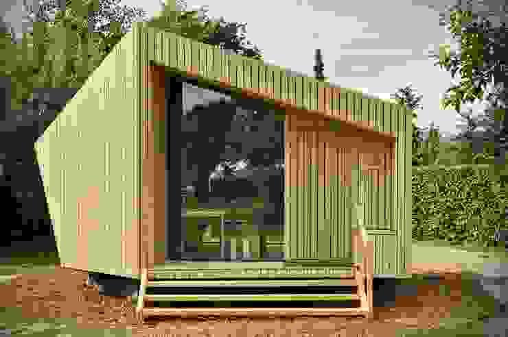Trek-in - duurzame Trekkershut Moderne huizen van Kristel Hermans Architectuur Modern