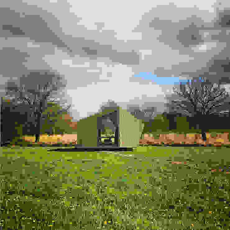 Trek-in – duurzame Trekkershut Moderne huizen van Kristel Hermans Architectuur Modern