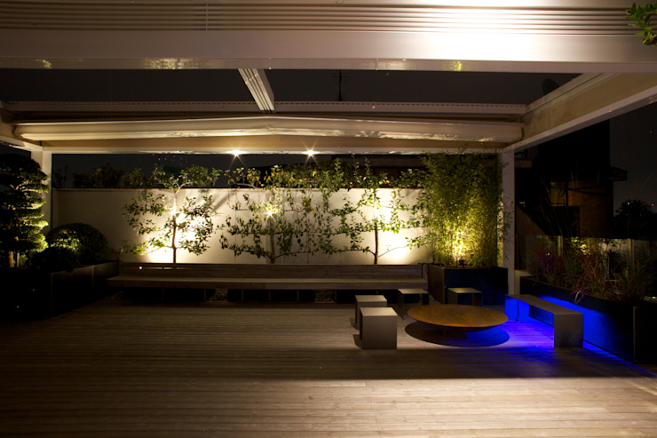 Romano Baratta Lighting Studio Patios & Decks