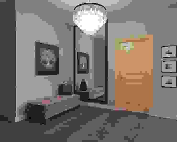 квартира на Ломоносовском проспекте Коридор, прихожая и лестница в эклектичном стиле от Tina Gurevich Эклектичный