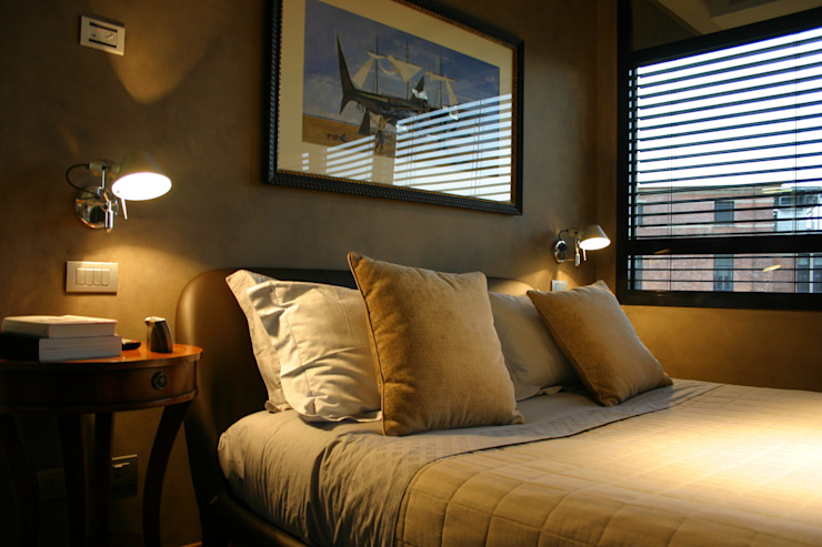 Romano Baratta Lighting Studio Modern Bedroom