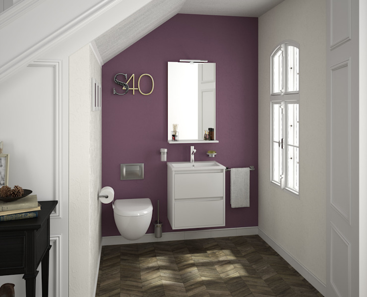 Bathroom تنفيذ Salgar,