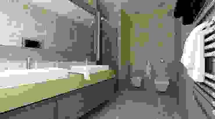 Phòng tắm phong cách Địa Trung Hải bởi homify Địa Trung Hải