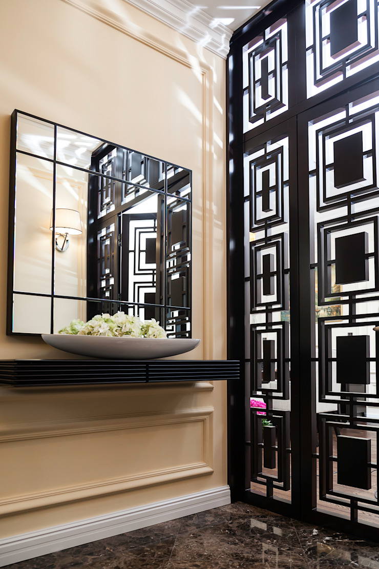 Eclectic style corridor, hallway & stairs by Prosperity Eclectic