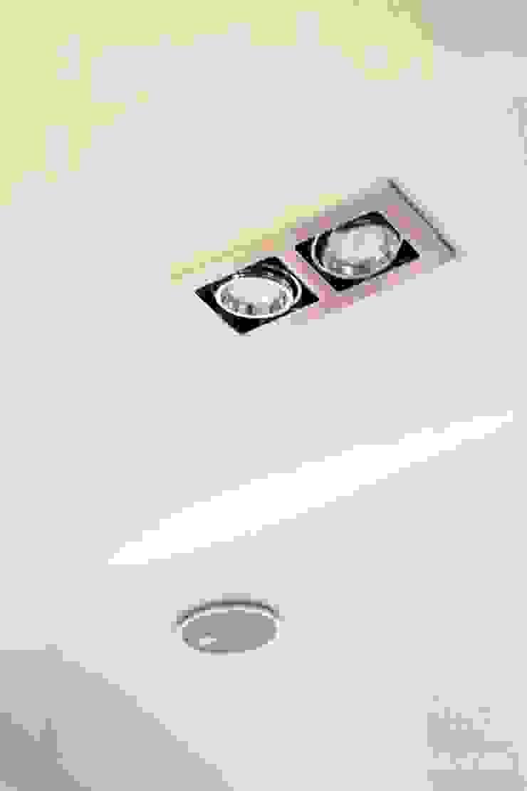 Betonowa Łazienka Minimalistyczna łazienka od Akuratnie Minimalistyczny