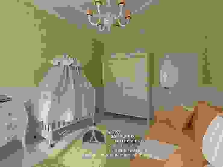 Дизайн детской комнаты для новорожденного Детская комнатa в стиле кантри от Бюро домашних интерьеров Кантри