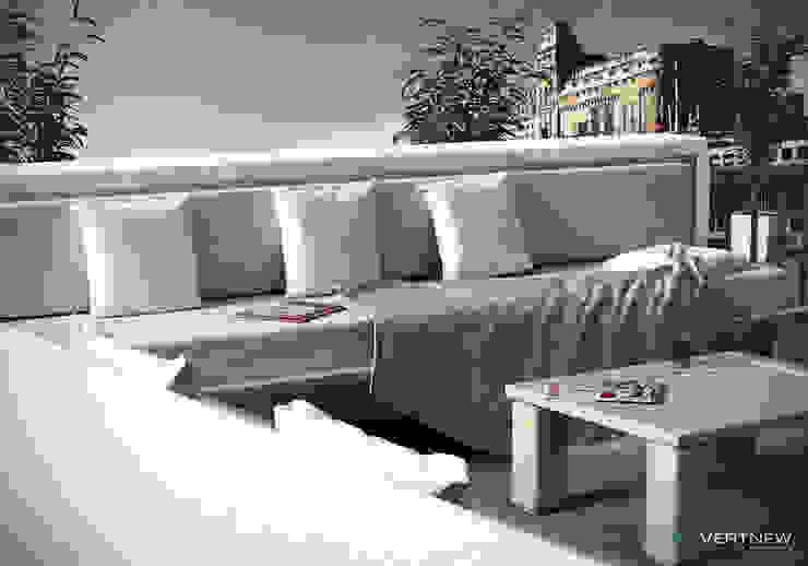 Modern Terrace by ADVERTNEW Modern