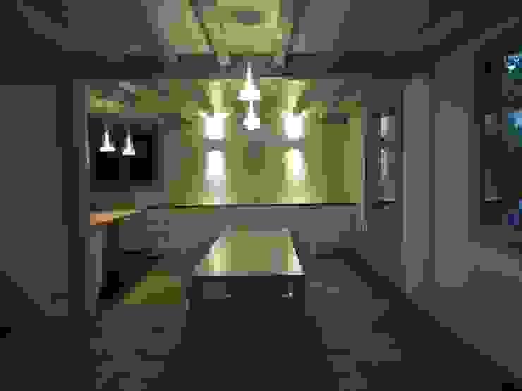 Salle à manger aprés travaux par Clemence de Mierry Grangé Moderne