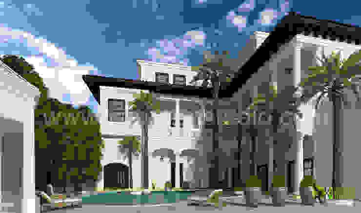 3D Home Exterior Rendering Design: modern  by Yantram Architectural Design Studio, Modern