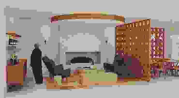 Hotel Rural Hotéis eclécticos por Santiago | Interior Design Studio Eclético