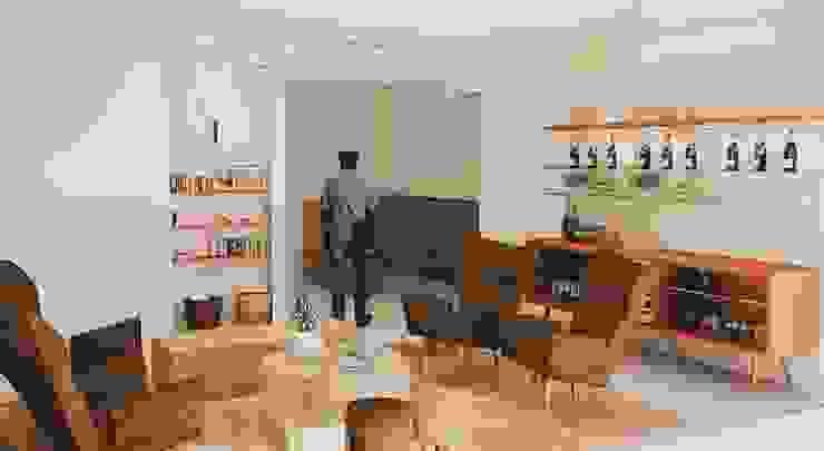 Hotel Rural Hotéis clássicos por Santiago | Interior Design Studio Clássico