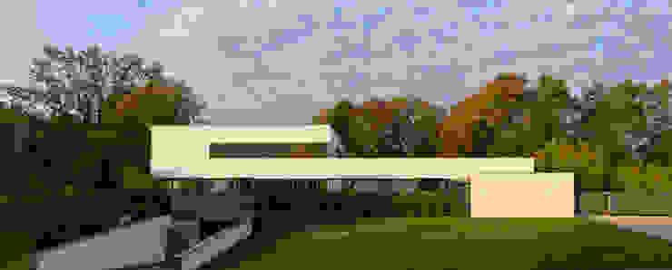 Tusch Architekten und Ingenieure Düsseldorf 모던스타일 주택