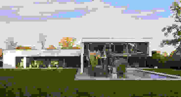 Haus F Moderne Häuser von Tusch Architekten und Ingenieure Düsseldorf Modern