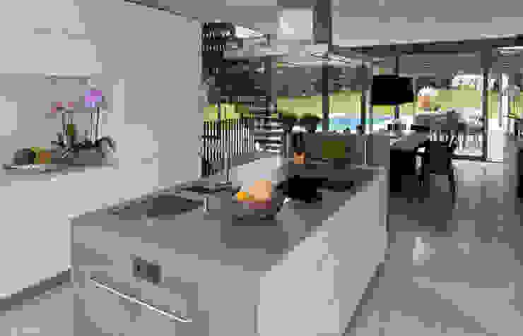 Haus F Tusch Architekten und Ingenieure Düsseldorf Moderne Küchen