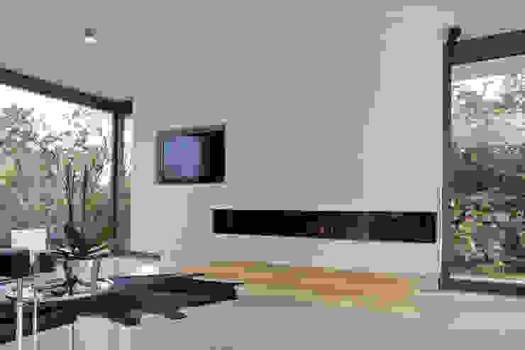 Haus F Tusch Architekten und Ingenieure Düsseldorf Moderne Wohnzimmer
