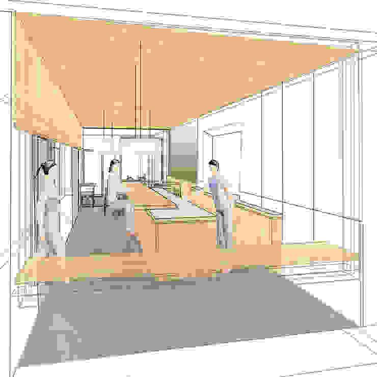 Interieur concept sushi restaurant van Studio evo Aziatisch