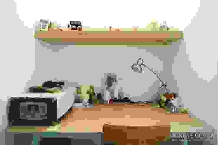 서재 사무실.: 홍예디자인의  서재 & 사무실,모던