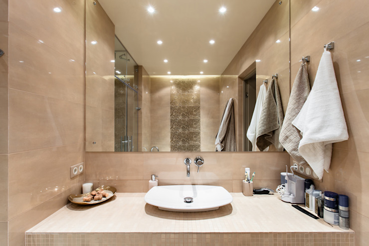 ЛОФТ Ванная в стиле лофт от ООО 'Студио-ТА' Лофт