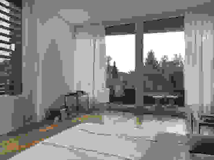 Nowoczesna sypialnia od nimmrichter architekten ETH SIA AG Nowoczesny