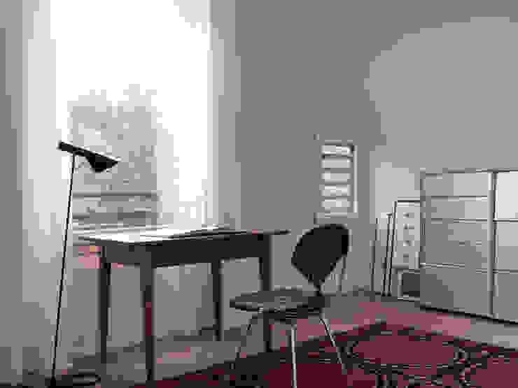 Nowoczesne domowe biuro i gabinet od nimmrichter architekten ETH SIA AG Nowoczesny