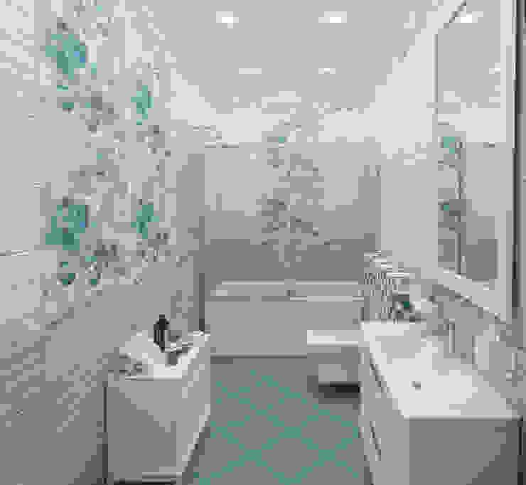 Baños modernos de Гурьянова Наталья Moderno